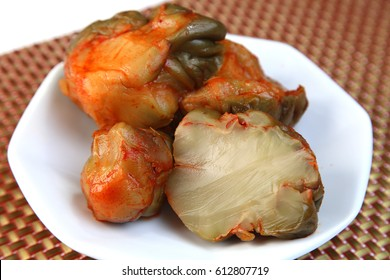 Pickles/pickled mustard plant stem/zha cai