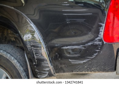 Car Paint Damage Black Images, Stock Photos & Vectors