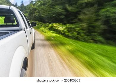 Pick-up drive