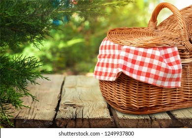 Picnic basket background spring lunch romantic white