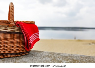 Image result for basket on beach