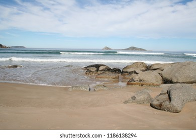 picnic bay at wilsons promontory national park, victoria, australia