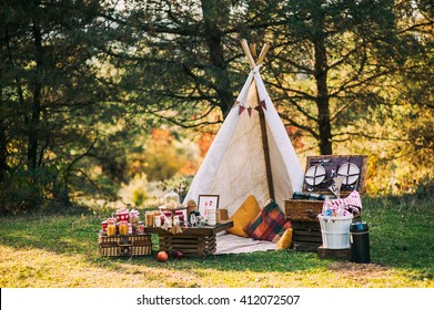picnic scenery