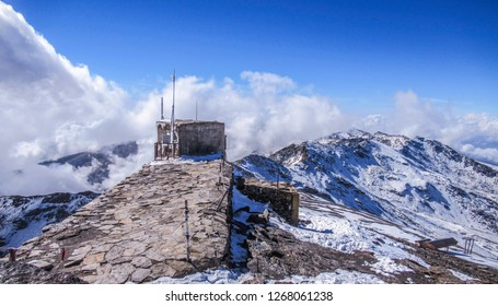 Pico de Veleta, Sierra Nevada, Andalusia, Spain - Shutterstock ID 1268061238