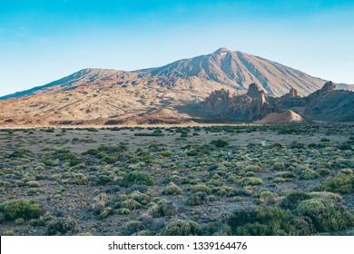 Pico del Teide - Spectacular volcano on Tenerife, with it's surroundings