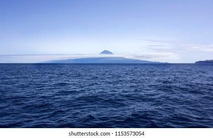 Pico seen from Faial