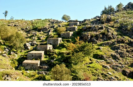 Picon and Folon watermills in Galicia, Spain
