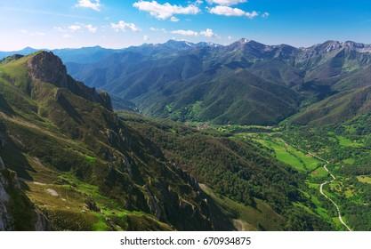 Picos de Europa mountains, Cantabria (Spain).