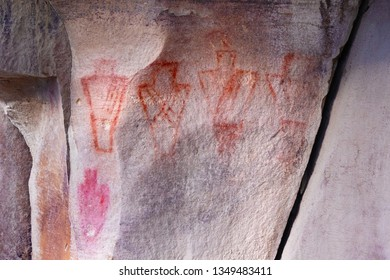 Pictograph in Nine Mile Canyon, Utah