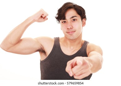 Picture of attractive young man