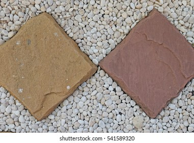 Picture for background and texture with peddle stone. For decorste Thailand