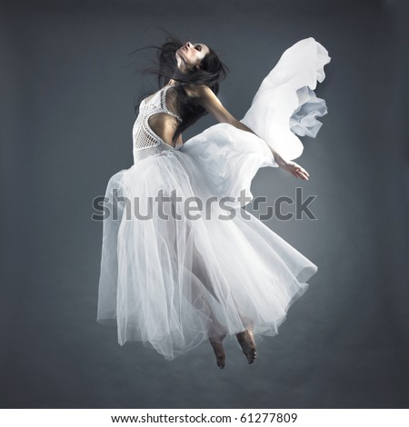 f4e6a439c Picture Beautiful Fairy Flying Girl White Stock Photo (Edit Now ...