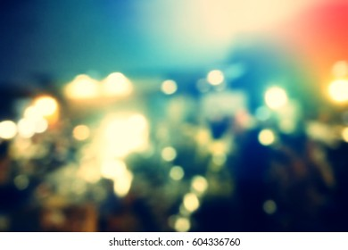 Picture blurred  for background abstract and can be illustration to article of people in restaurant