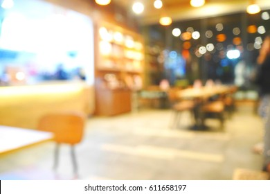 Picture blurred  for background abstract and can be illustration to article of people paying in a shop