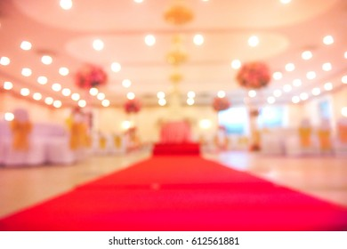Picture blurred  for background abstract and can be illustration to article of wedding party
