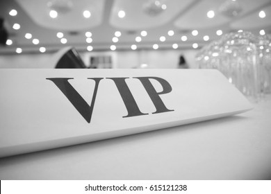 Picture blurred  for background abstract and can be illustration to article of vip table in party