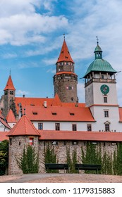 Picture of Bouzov castle in Czech Republic.