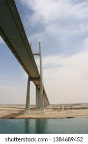 Picture of a bridge over Suez canal