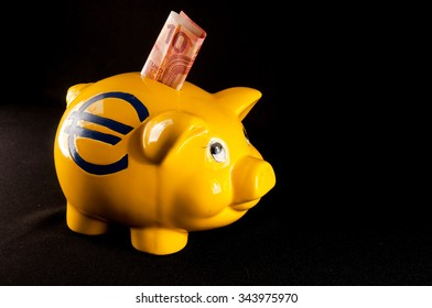 Picture of a Business Money Concept Idea Piggy Bank