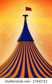 picture of a circus tent