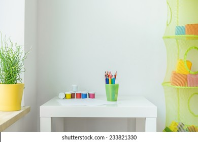 Picture of clean cute children interior