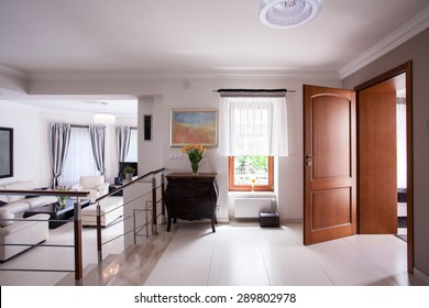Picture of designed interior in luxury residence