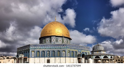 A picture of the Dome of the Rock in Jerusalem