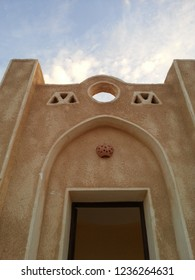 Picture of the door of the nubian house