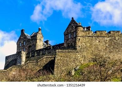 Picture of Edinburgh Castle, Edinburgh, United Kingdom on 22 March 2008