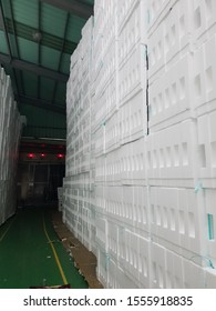 Picture of the factory that produced shockproof foam