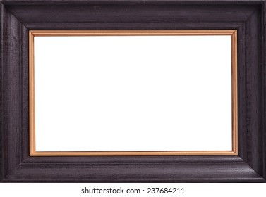 Picture Frame on wallpaper background