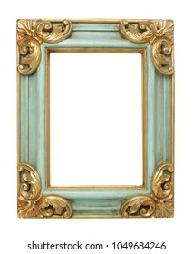 Picture frame on white