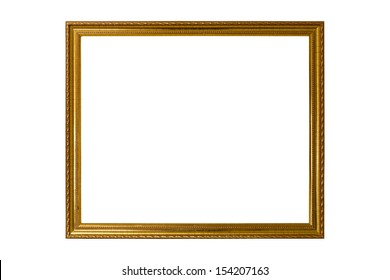the picture frame on white background