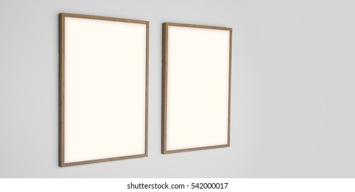 Picture frame for photograph template includes clipping path