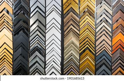 Bilderrahmen-Muster im Rahmen der Bildergalerie