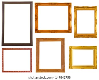 Picture frame set of Thai style