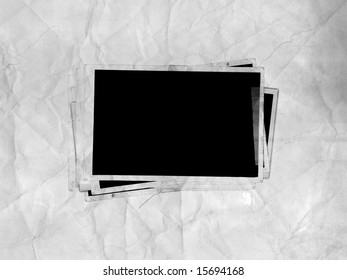 Picture Frames (on paper background)