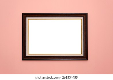 picture frames on the wall.