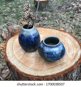 A picture of home made ceramics