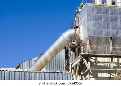Picture of an industry landscape with great  materials
