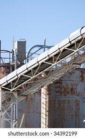 Picture of an industry landscape with great textures and materials