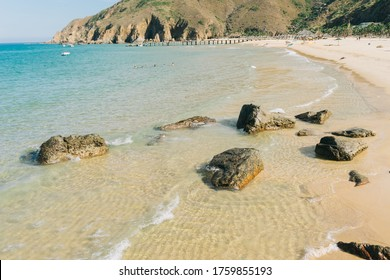 Picture of Ky Co beach, Quy Nhon City, Binh Dinh province, Vietnam - Shutterstock ID 1759855193