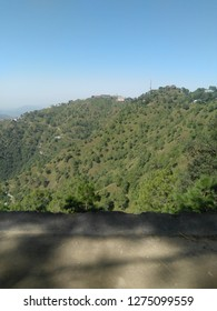A picture of the mountains of KASAULI
