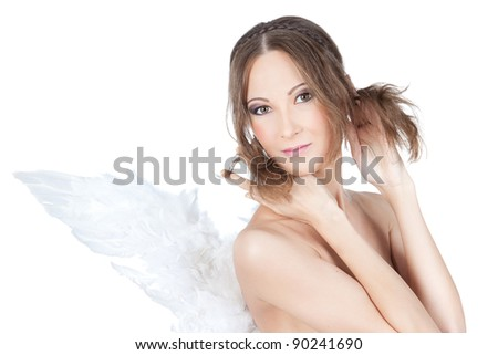 Angel Naked Asian