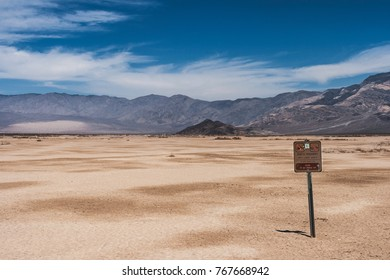 Picture of North Panamint, desert of Death Valley National Park (California), summer 2007.