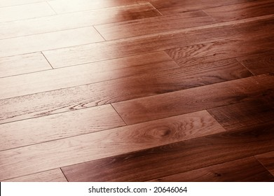 a picture of oak wood flooring up close