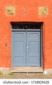 picture of an old door in Stralsund, Germany