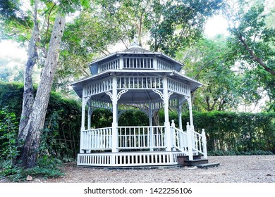 Picture of patio beautiful balcony vintage designed style decorative comfortably to luxury terrace gazebo - copy space center image