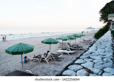 Picture of patio sea view sand beach beautiful gazebo seaside view - image