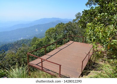 picture of patio viewpoint on mountain